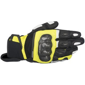 Gants SP X AIR CARBON  Black/Yellow fluo