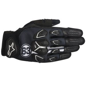Gants MASAI  -BLACK WHITE GRAY  Black/White/Gray