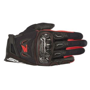 Gants HONDA SMX-2 AIR CARBON V2  Black/Red