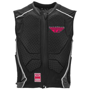 Gilet de protection BARRICADE - ZIP VEST 2020 Noir