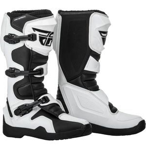Bottes Cross Fly Maverik - White Black 2019