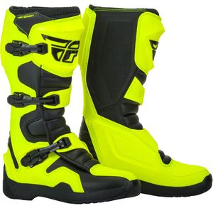 Bottes Cross Fly Maverik - Hi Vis Black 2019