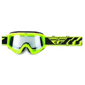 Masque Cross Fly Focus - Jaune Fluo - Ecran Clair - 2018