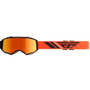 Masque cross ZONE - BLACK ORANGE 2019 Black Orange