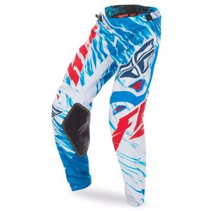 Pantalon cross KINETIC RELAPSE - ROUGE BLANC BLEU - 2017 Rouge/Blanc/Bleu