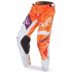 Pantalon cross KINETIC CRUX - ORANGE BORDEAUX - 2017 Orange/Bordeaux