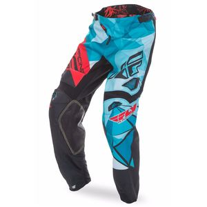Pantalon cross KINETIC CRUX - BLEU ROUGE - 2017 Bleu/Rouge