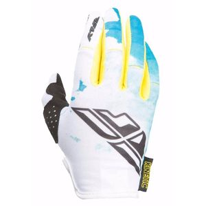 Gants cross KINETIC WOMAN - BLEU JAUNE - 2017 Bleu/Jaune