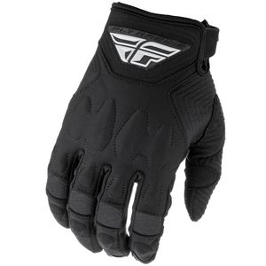 Gants cross PATROL XC LITE - BLACK 2021 Black