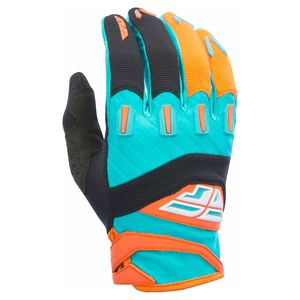 Gants cross F16 - ORANGE BLEU - 2017 Orange/Bleu