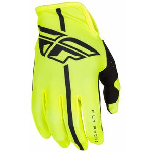 Gants cross LITE YOUTH -  JAUNE FLUO -  2018 Jaune fluo