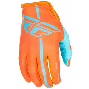 Gants cross LITE YOUTH - ORANGE BLEU -  2018 Orange/Bleu