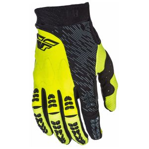 Gants Cross Fly Evolution 2.0 - Noir Jaune Fluo - 2018