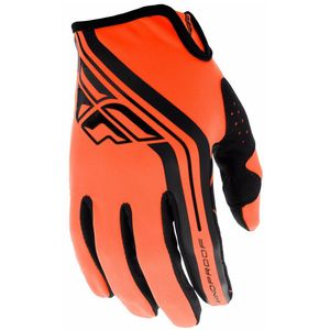 Gants cross KID LITE WINDPROOF - BLACK ORANGE  Black Orange