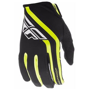 Gants Cross Fly Lite Windproof - Noir Jaune Fluo - 2019