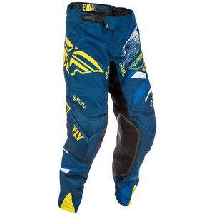 Pantalon cross EVOLUTION 2.0 - BLEU JAUNE -  2018 Bleu/Jaune