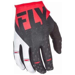 Gants cross KINETIC YOUTH - ROUGE NOIR -   Rouge/Noir