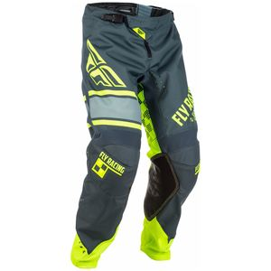 Pantalon cross KINETIC ERA - JAUNE FLUO GRIS -  2018 Gris/Jaune