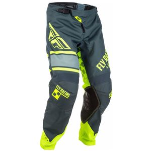 Pantalon cross KINETIC YOUTH ERA - JAUNE FLUO GRIS -   Gris/Jaune