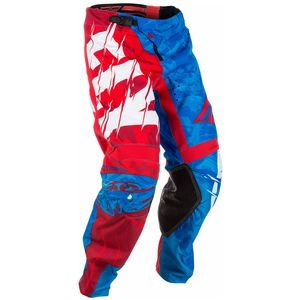 Pantalon cross KINETIC YOUTH OUTLAW - ROUGE BLANC BLEU -   Rouge/Blanc/Bleu