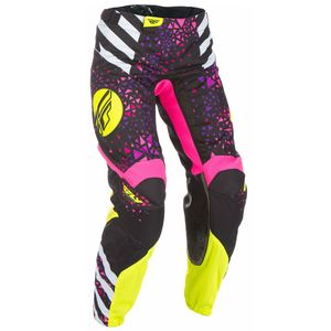 Pantalon cross KINETIC WOMEN - ROSE JAUNE -  2018 Rose/Jaune
