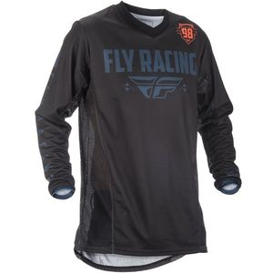 Maillot Cross Fly Patrol - Black Grey 2019