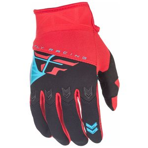 Gants Cross Fly F16 Youth - Rouge Noir - 2018