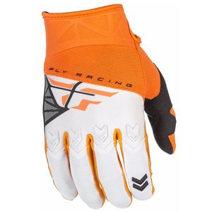 Gants Cross Fly F16 Youth - Orange Blanc - 2018