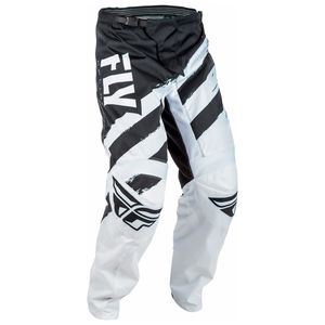 Pantalon cross F16 YOUTH - BLANC NOIR -   Noir/Blanc