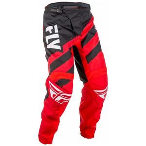 Pantalon cross F16 - ROUGE NOIR -  2018 Rouge/Noir