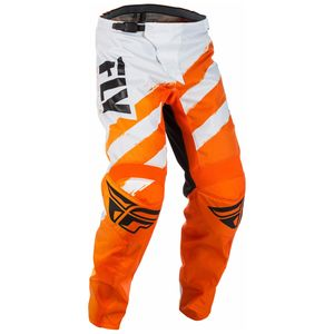 Pantalon Cross Fly F16 - Orange Blanc - 2018