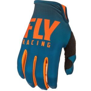 Gants Cross Fly Kid Lite Hydrogen - Orange Navy 2019