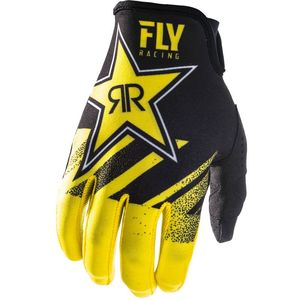 Gants Cross Fly Kinetic Rockstar - Yellow Black 2019