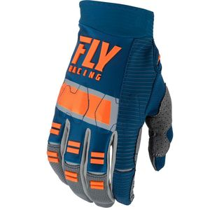 Gants cross EVOLUTION DST - NAVY GREY ORANGE 2019 Navy Grey Orange