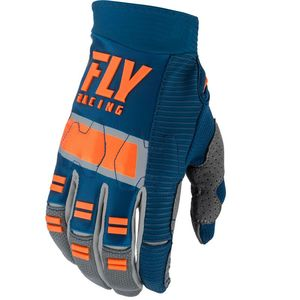 Gants cross KID EVOLUTION DST - NAVY GREY ORANGE  Navy Grey Orange