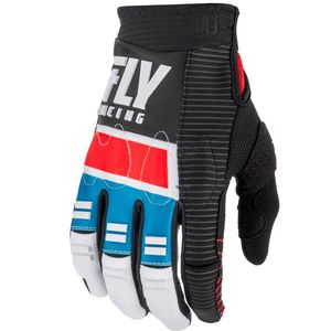 Gants cross EVOLUTION DST - RED BLUE BLACK 2019 Red Blue Black