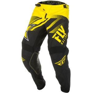 Pantalon cross KINETIC ROCKSTAR - YELLOW BLACK 2019 Yellow Black