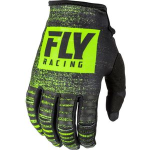 Gants Cross Fly Kid Kinetic Noiz - Black Hi-vis 2019
