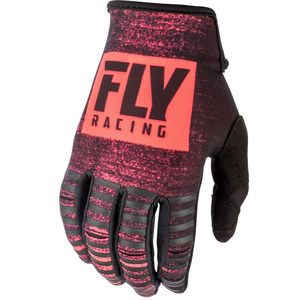 Gants Cross Fly Kinetic Noiz - Neon Red Black 2019