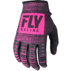 Gants Cross Fly Kinetic Noiz - Neon Pink Black 2019