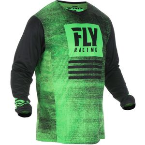 Maillot Cross Fly Kid Kinetic Noiz - Neon Green Black 2019