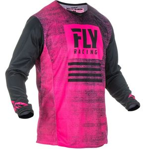 Maillot Cross Fly Kinetic Noiz - Neon Pink Black 2019