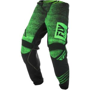 Pantalon cross KINETIC NOIZ - NEON GREEN BLACK 2019 Neon Green Black