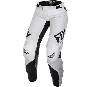 Pantalon cross WOMEN'S LITE - WHITE BLACK 2019 White Black