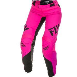 Pantalon Cross Fly Women's Lite - Neon Pink Black 2019