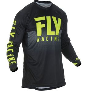 Maillot Cross Fly Lite Hydrogen - Black Hi Vis 2019