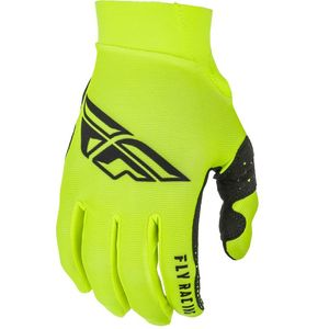 Gants cross KID PRO LITE - HI VIS BLACK  Black Hi-Vis