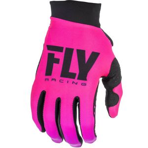Gants Cross Fly Kid Women's Lite - Neon Pink Black 2019