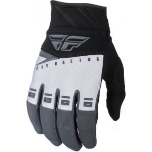 Gants Cross Fly F-16 - Kid Black White Grey 2019