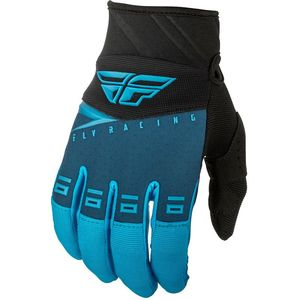 Gants Cross Fly F-16 - Kid Blue Black Hi-vis 2019